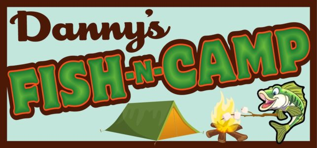 Dannys Fish n Camp Logo